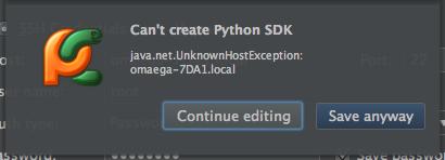 Remote Python Interpreter   Community